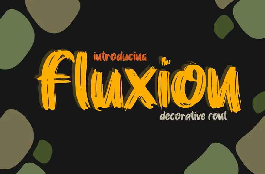 Fluxion Font