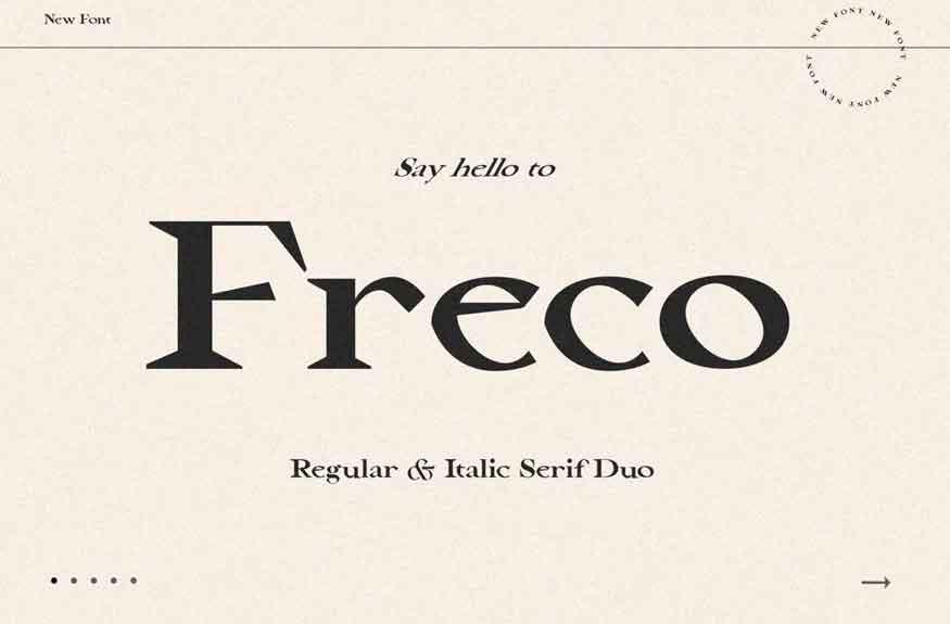 Freco Font