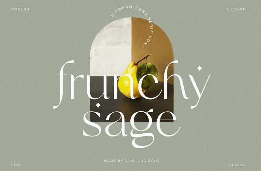 Frunchy Sage Font