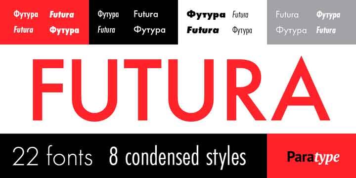 Futura PT Font