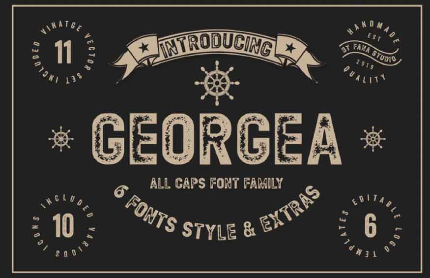 GEORGEA Font