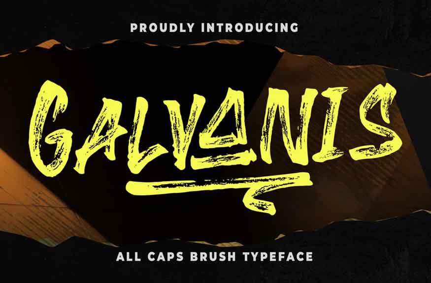 Galvanis Font
