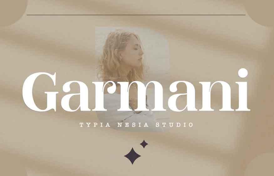 Garmani Font