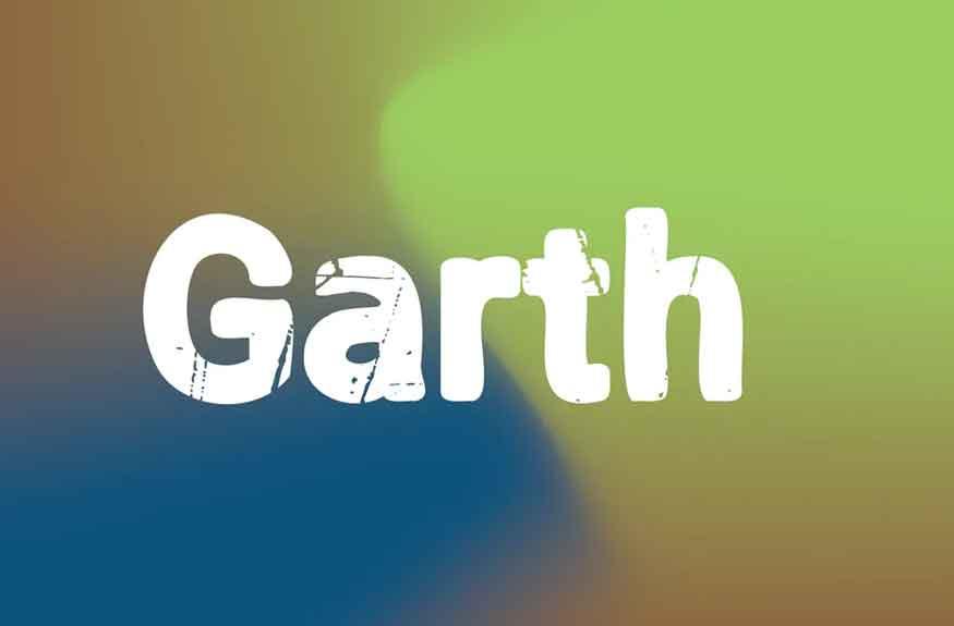 Garth Font
