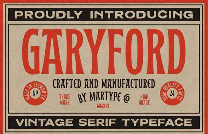 Garyford Font