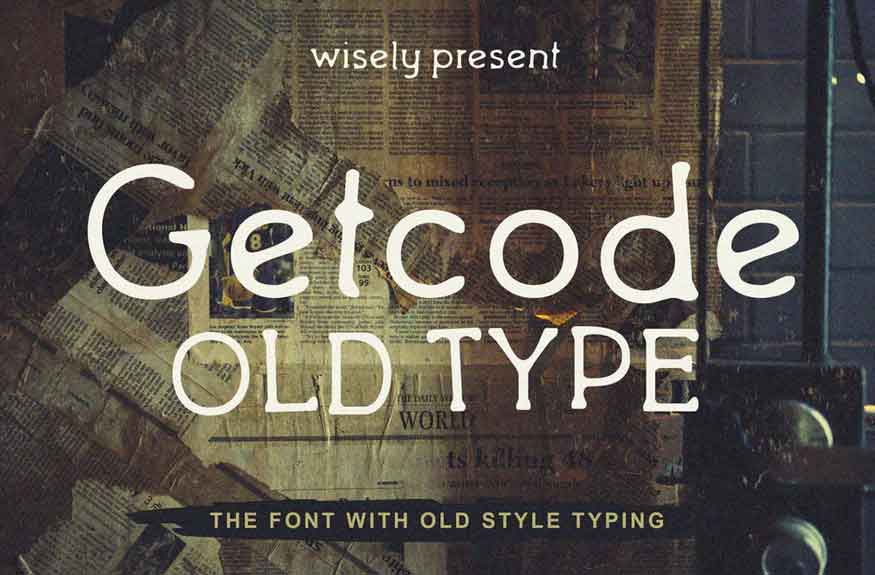 Getcode Old Type Font