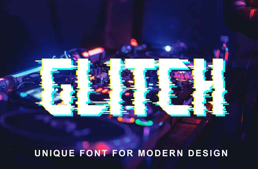 Glitch Font