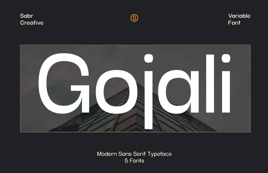 Gojali Font