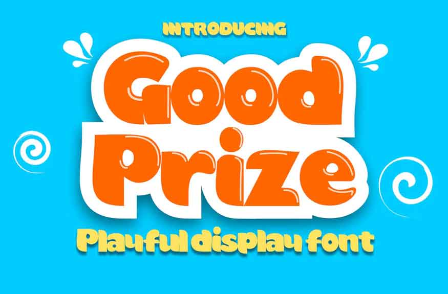 Good Prize Font