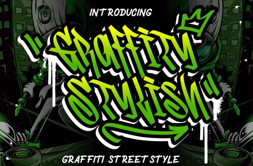 Graffity Stylish Font