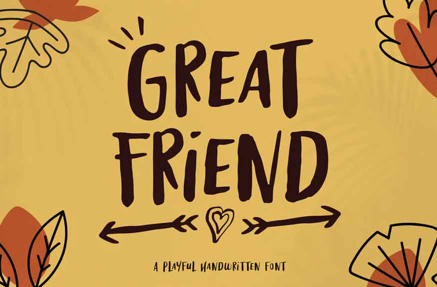 Great Friend Font