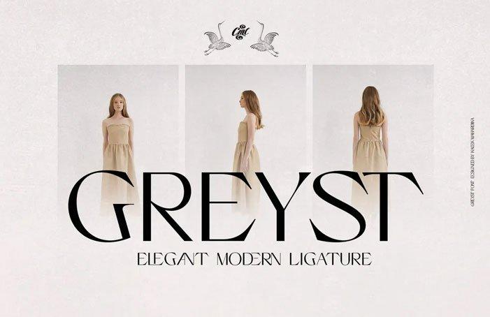 Greyst Font
