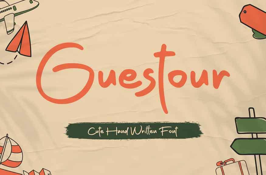 Guestour Font