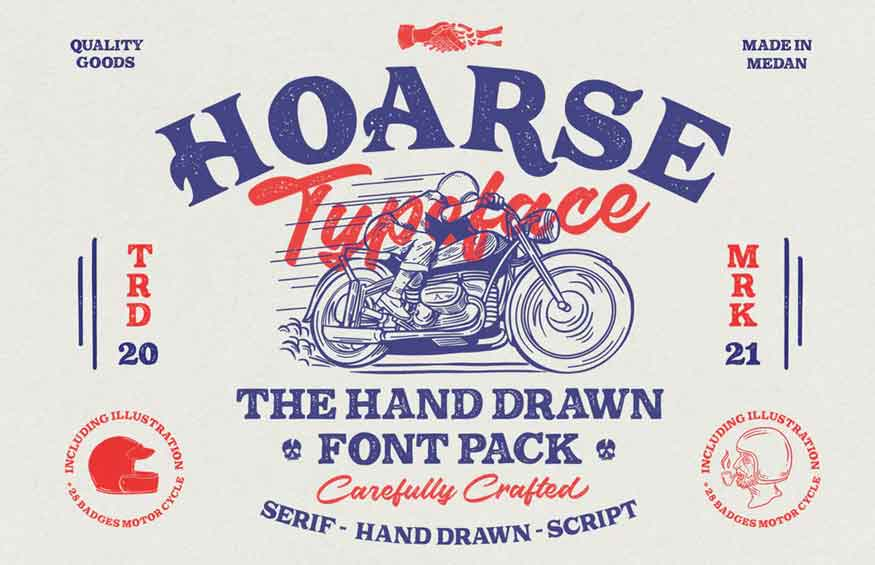 HOARSE Font