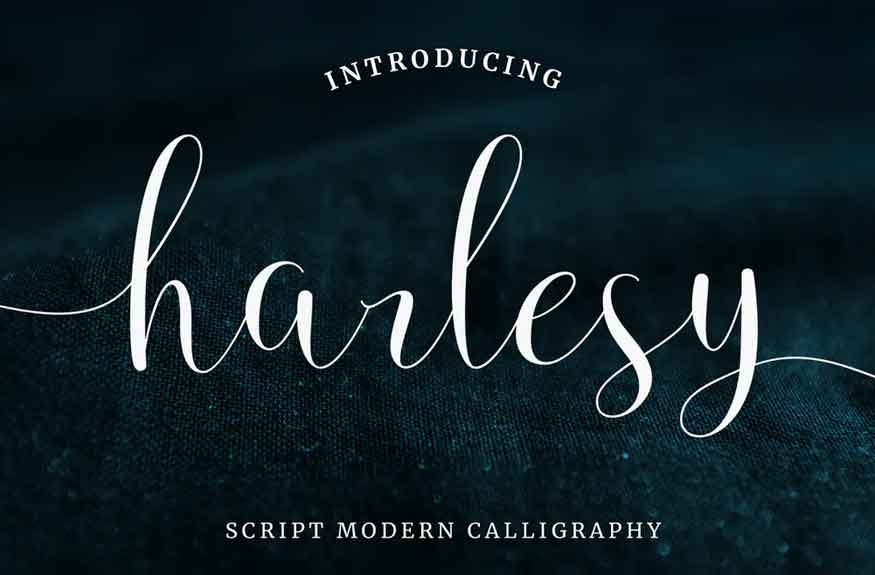 Harlesy Font