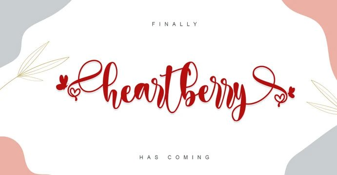 Heartberry Font