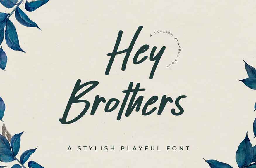 Hey Brothers Font