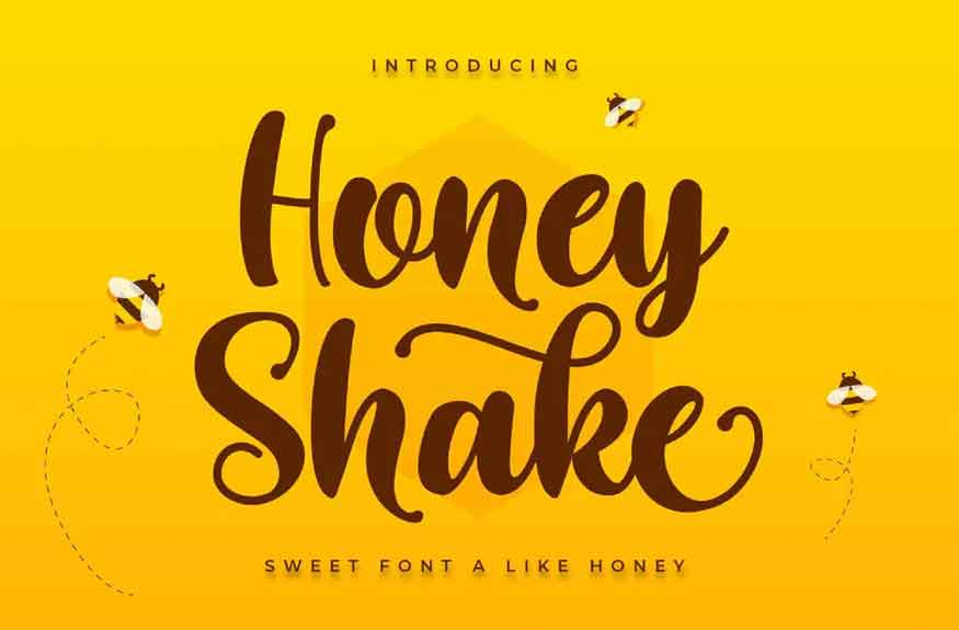 Honey Shake Font