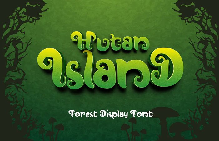 Hutan-Island Font