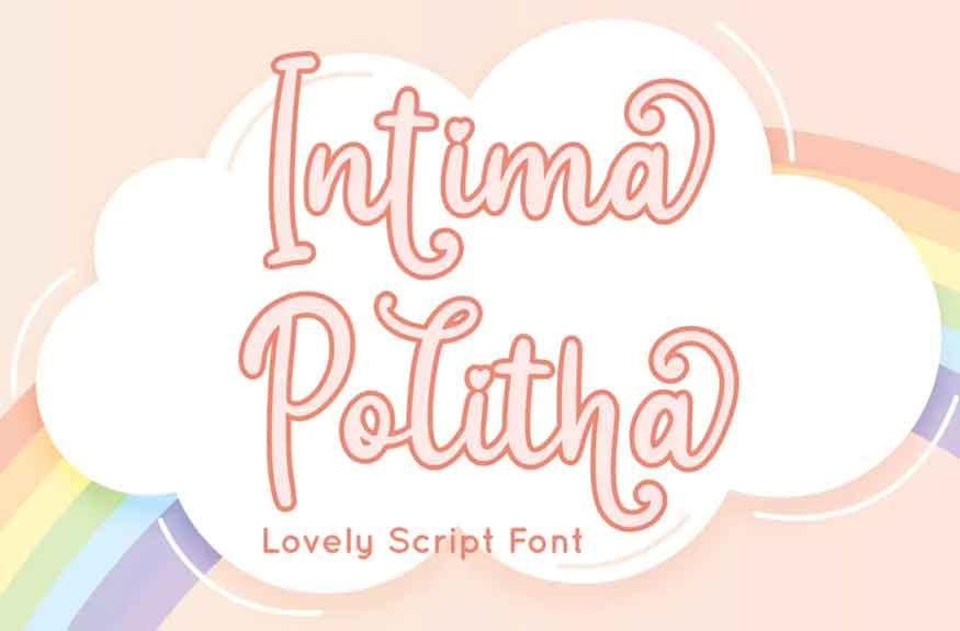 Intima Politha Font