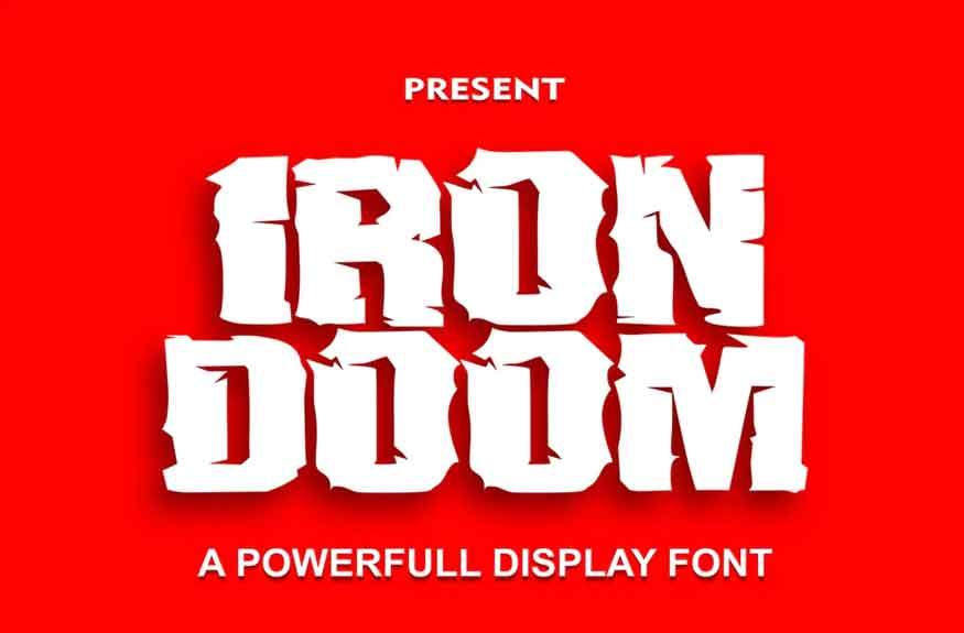 Iron Doom Font