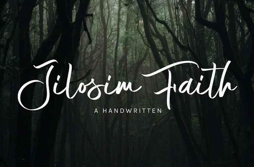 Jilosim Faith Font