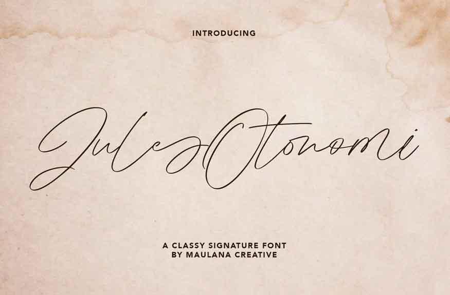 Jules Otonomi Font
