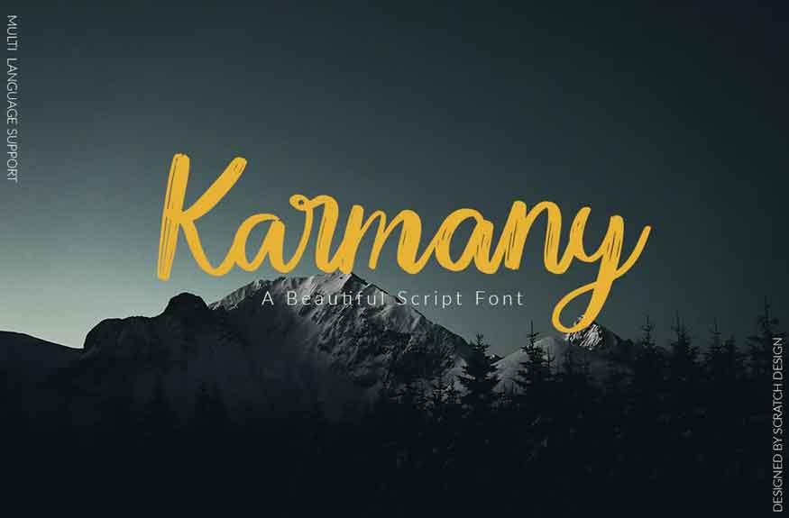 Karmany Font