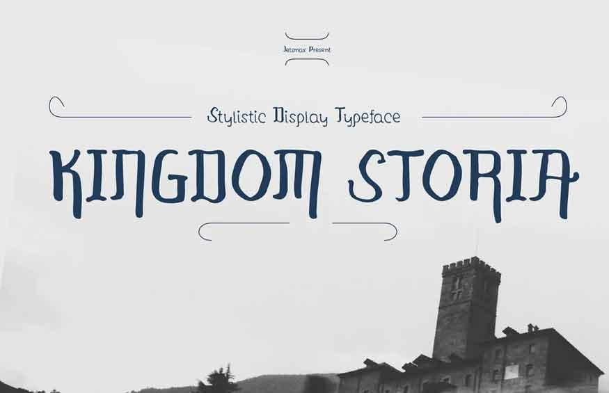 Kingdom Storia Font