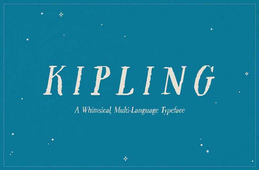 Kipling Font