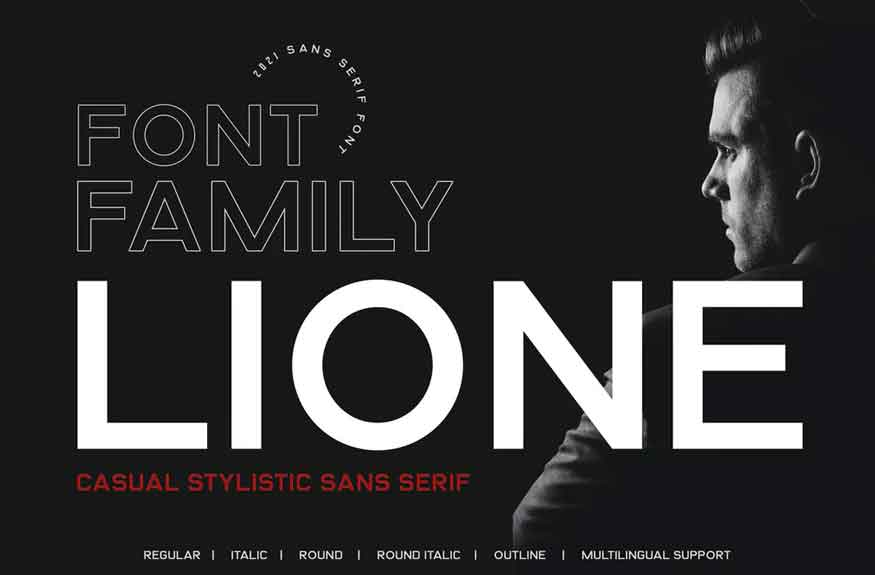 LIONE Font