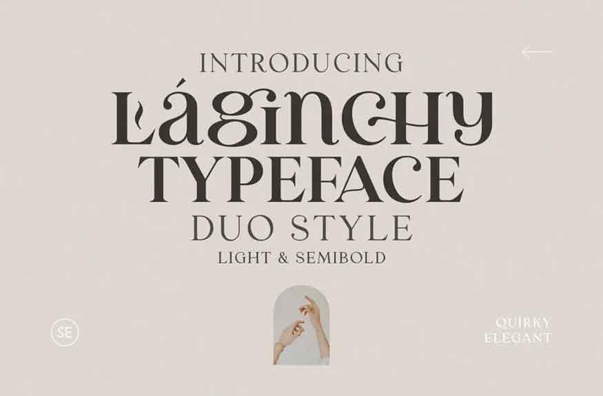 Laginchy Font