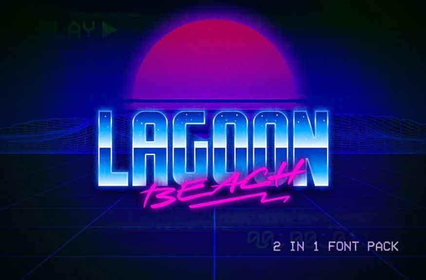 Lagoon Beach Font