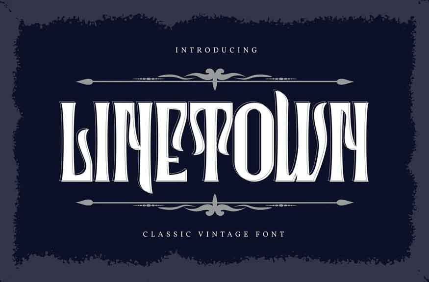 Linetown Font