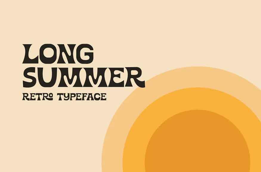 Long Summer Font