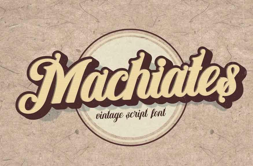 Machiates Font