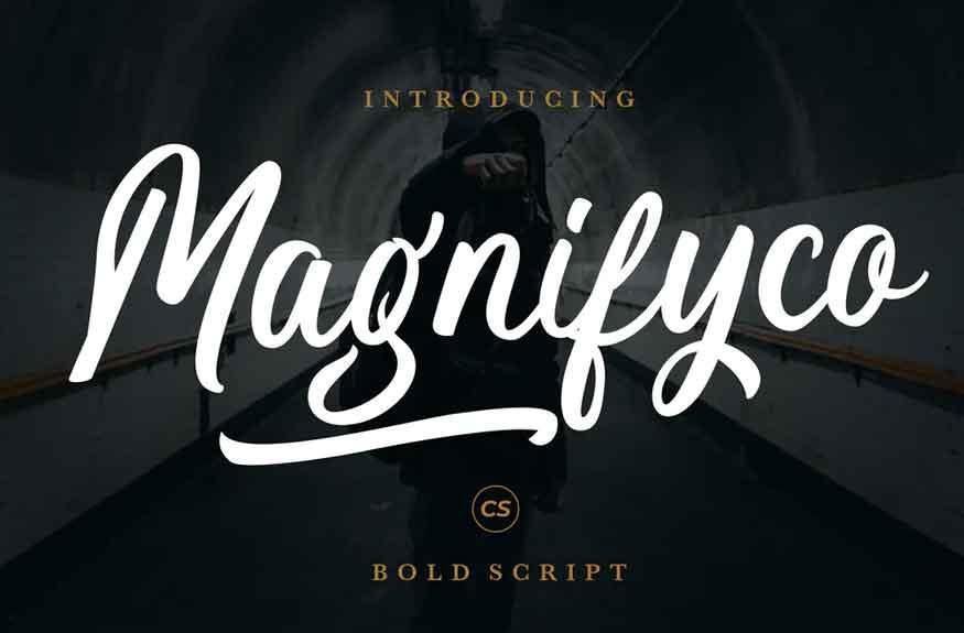 Magnifyco Font