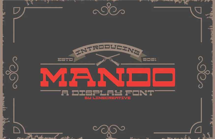 Mando Font
