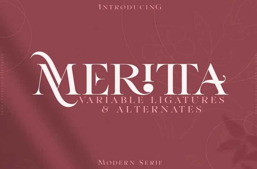 Meritta Font
