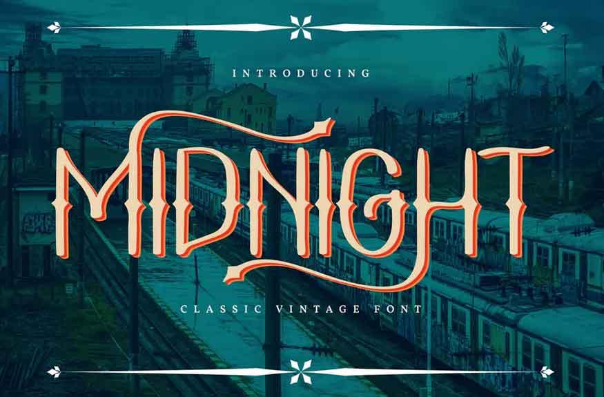 Midnight Font