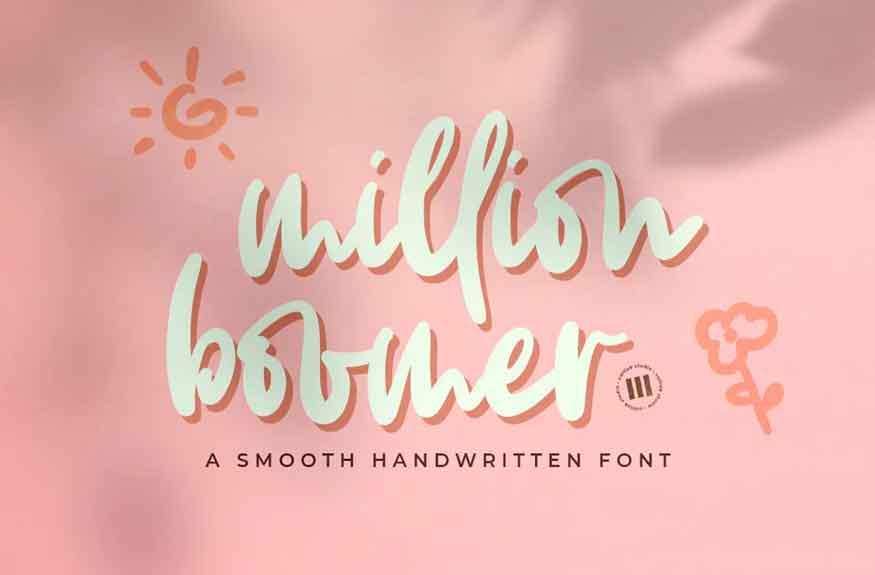 Million Boomer Font