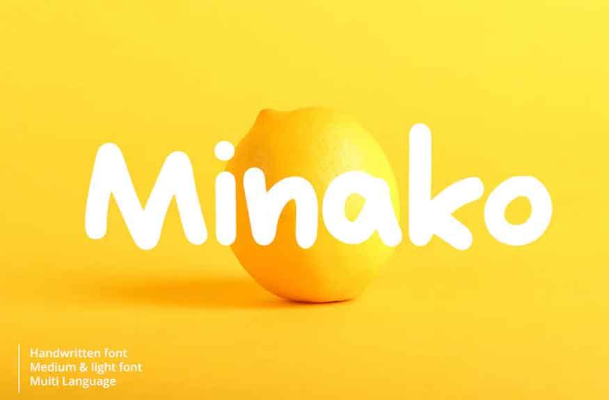 Minako Font