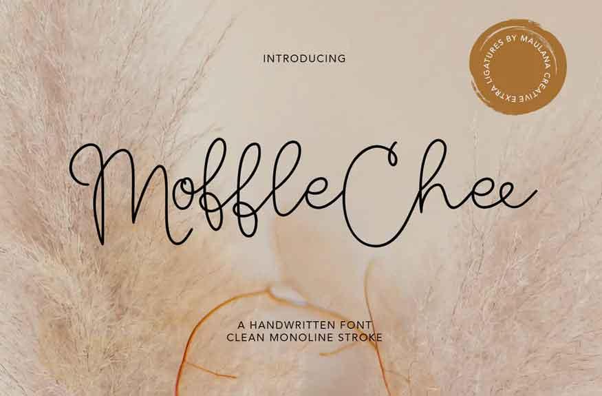 Moffle Chee Font