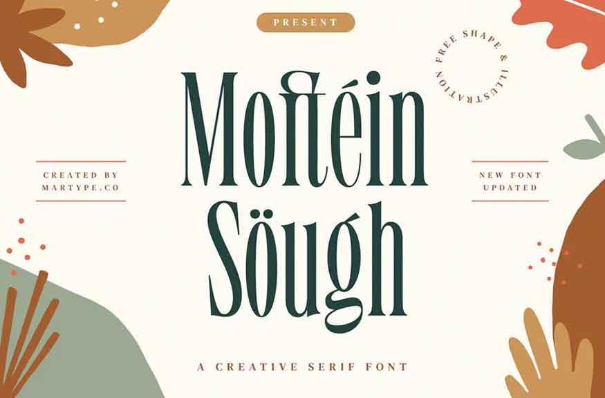 Moftein Sough Font