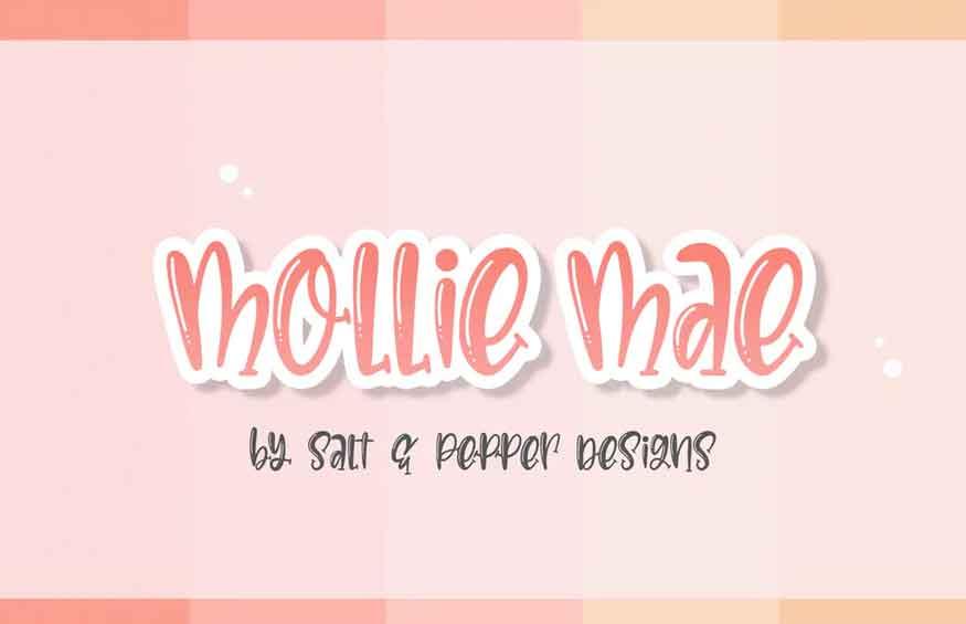 Mollie Mae Font