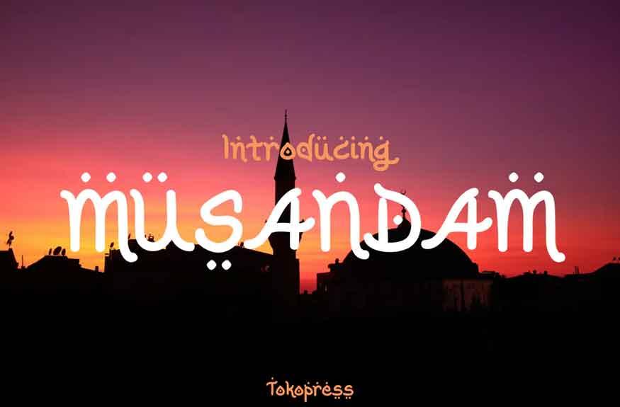 Musandam Font