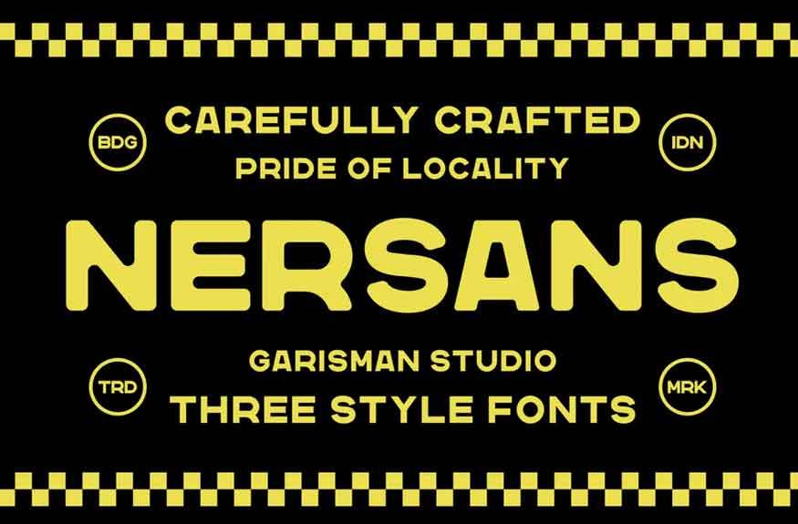 Nersans Font