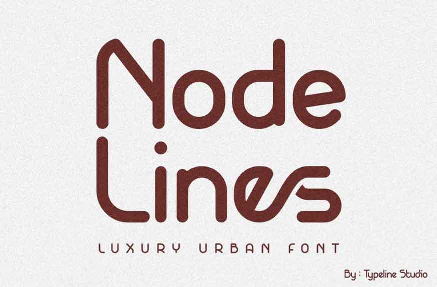 Nodelines Font