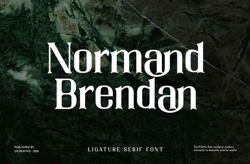 Normand Brendan Font