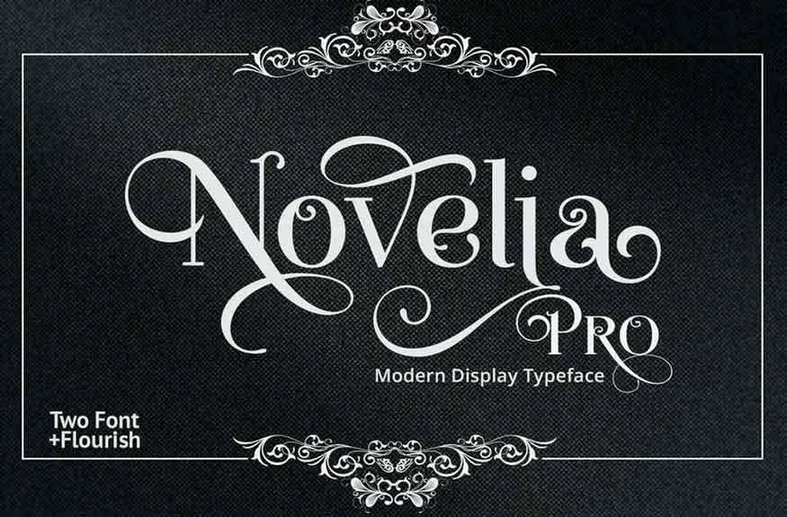 Novelia Pro Font